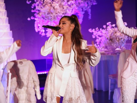 Baby Ariana Grande could out-perform us all at four as she sings word-perfect ballads in throwback