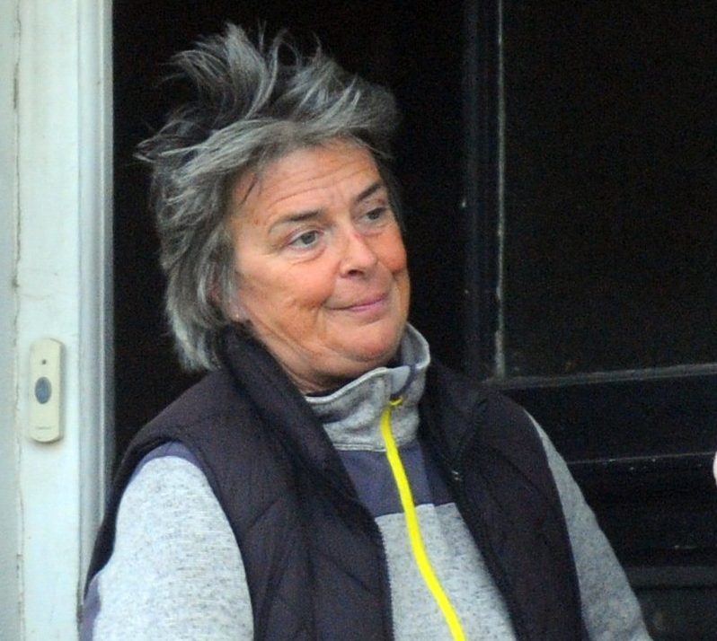 """This is the first picture of teacher Helen Evans who grabbed a shocked schoolmaster by his testicles after a parents evening - after ripping open his shirt. Primary school teacher Helen Evans, 48, is accused of leaving her younger male colleague feeling """"intimidated"""" in the """"sexually motivated"""" goolie grab. The male colleague, who gave up teaching after the bust-up, said primary schoolteacher Miss Evans liked to be the """"centre of attention."""" ?? WALES NEWS SERVICE"""