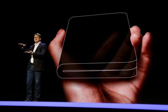 Apple plans foldable iPhone as Samsung builds folding 'Galaxy X Fold