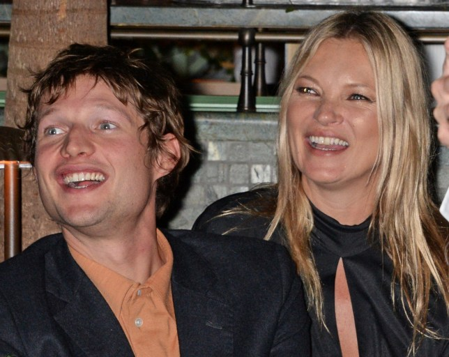 LONDON, ENGLAND - NOVEMBER 07: Count Nikolai von Bismarck and Kate Moss attend the Annabel's Art Auction fundraiser in aid of Teenage Cancer Trust & Teen Cancer America at Annabel's on November 7, 2018 in London, England. (Photo by David M. Benett/Dave Benett/Getty Images)