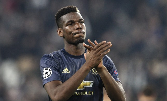 SIPA USA via PA Images Manchester United midfielder Paul Pogba (6) during the Uefa Champions League Group Stage football match n.4 JUVENTUS - MANCHESTER UNITED on 07/11/2018 at the Allianz Stadium in Turin, Italy. (Photo by Matteo Bottanelli/NurPhoto/Sipa USA)