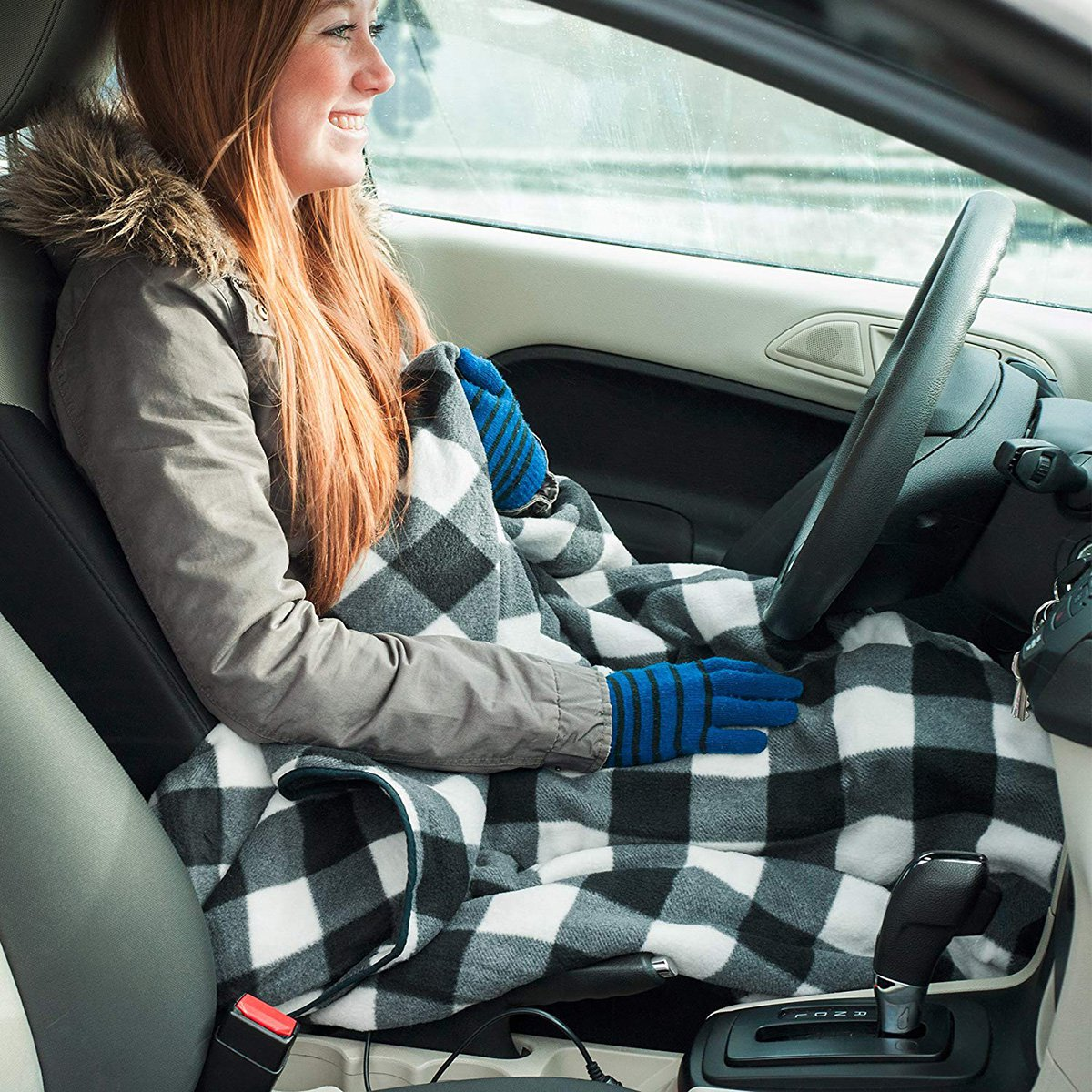 You Can Now Get An Electric Blanket That Connects To Your Car Amazon