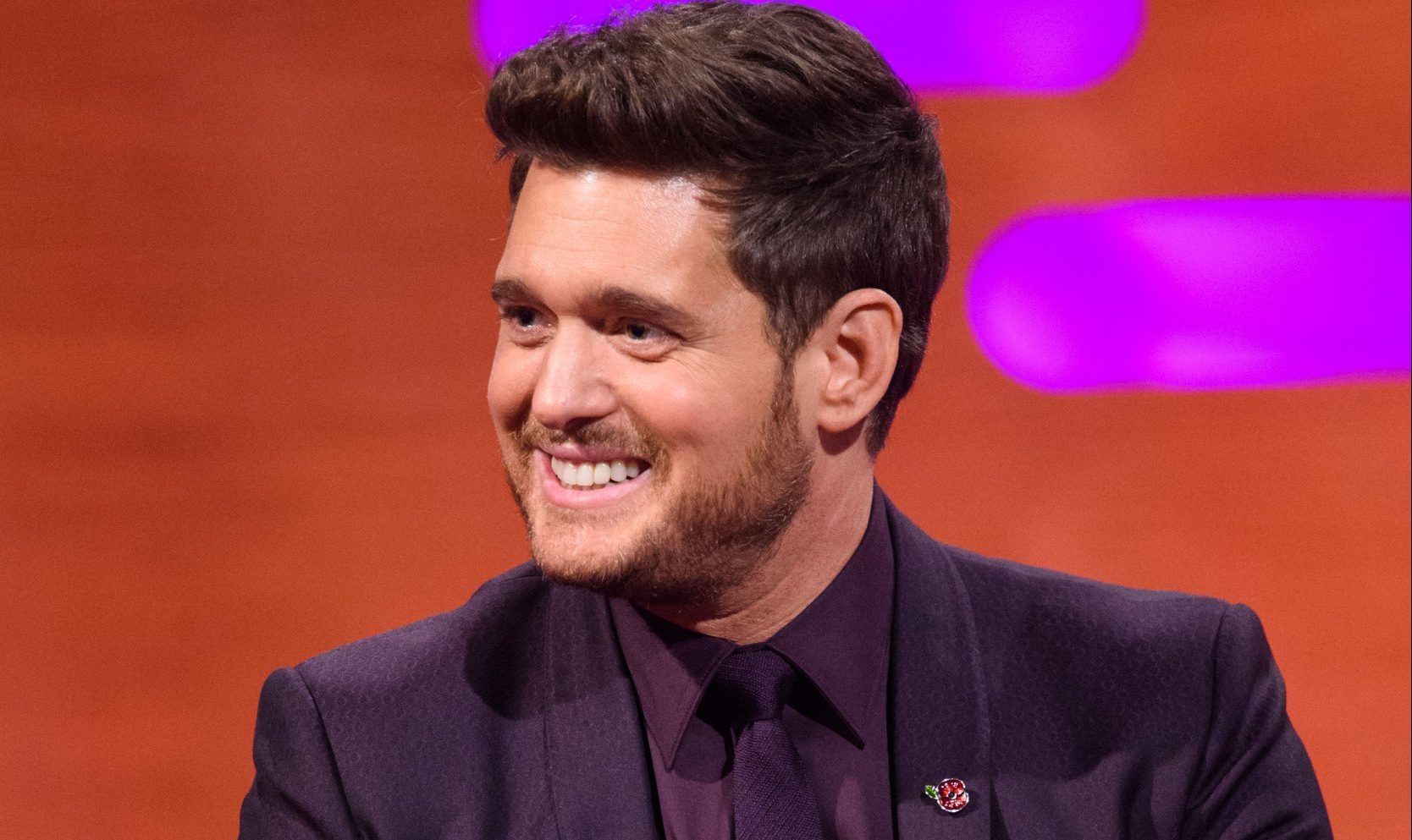 Michael Buble during the filming of the Graham Norton Show, during filming for the Graham Norton Show at BBC Studioworks in London, to be aired on BBC One on Friday. PRESS ASSOCIATION Photo. Picture date: Thursday November 8, 2018. See PA story SHOWBIZ Norton. Photo credit should read: PA Images on behalf of So TV/PA Wire