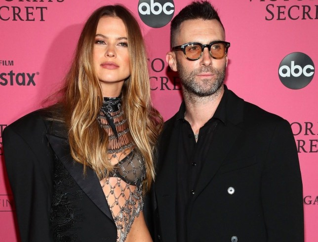 NEW YORK, NY - NOVEMBER 08: Behati Prinsloo and Adam Levine attends the 2018 Victoria's Secret Fashion Show After Party on November 8, 2018 in New York City. (Photo by Astrid Stawiarz/Getty Images for Victoria's Secret)