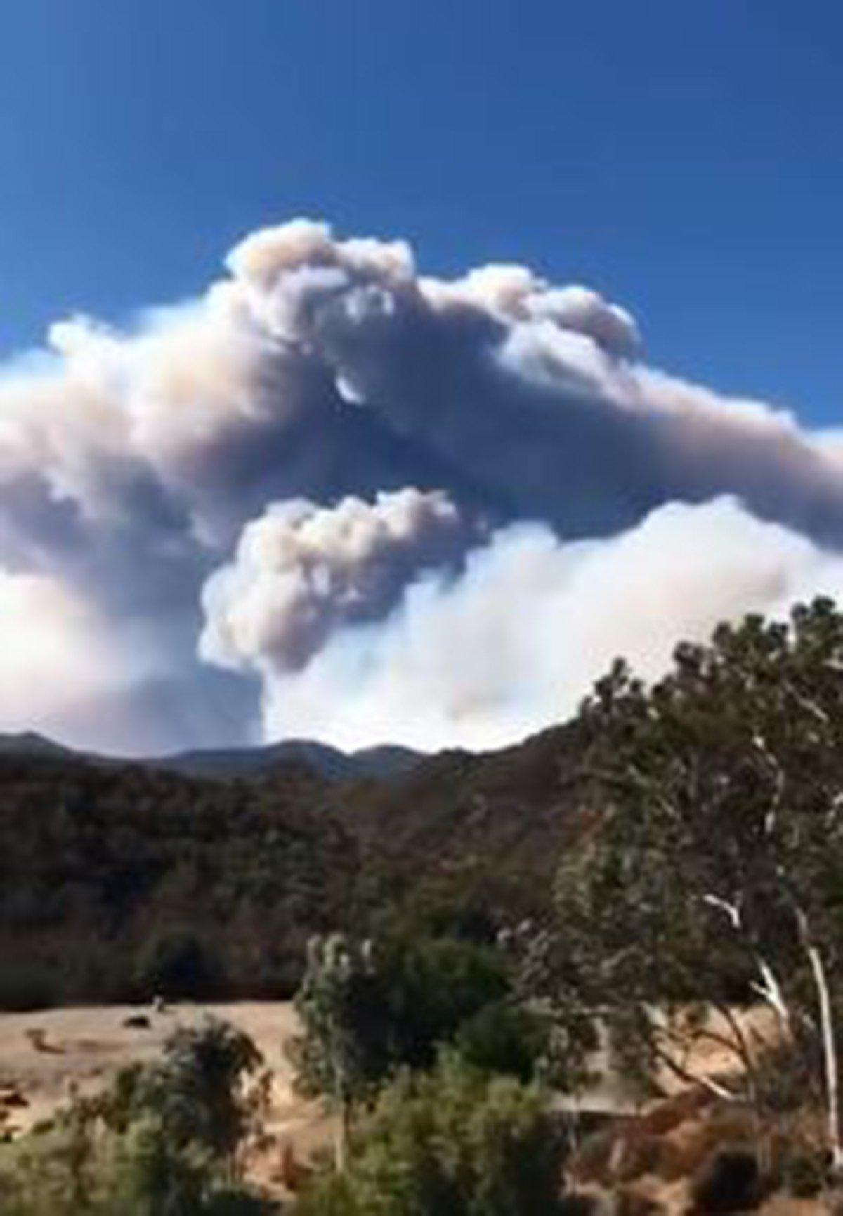 Will Smith wild fire Malibu