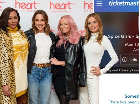 Spice Girls tickets selling for up to £1,000 on resale sites as fans fume at Ticketmaster