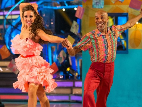 Strictly's Amy Dowden breaks silence amid reports of Danny John-Jules feud