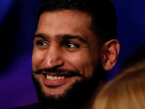 Amir Khan insists Kell Brook dodging him after rivals met ringside at Usyk-Bellew