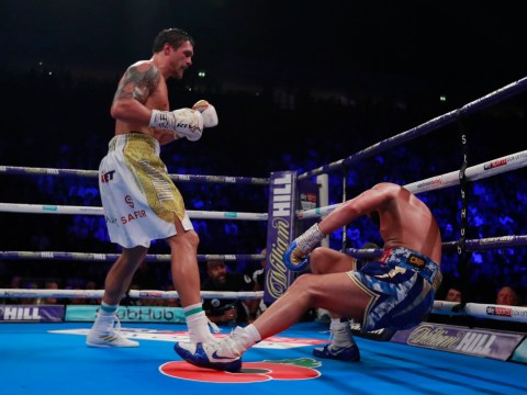 Emotional Tony Bellew says goodbye to boxing with loss to Oleksandr Usyk