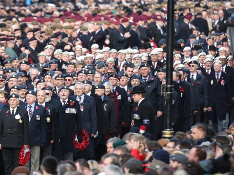 What time is the Remembrance Day parade in London and where can you see it?