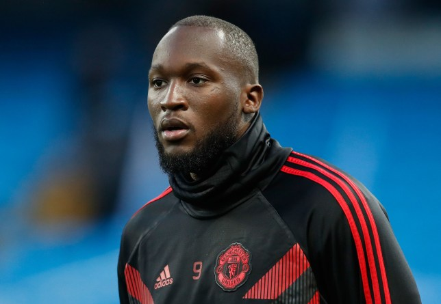 "Manchester United's Romelu Lukaku before the Premier League match at the Etihad Stadium, Manchester. PRESS ASSOCIATION Photo. Picture date: Sunday November 11, 2018. See PA story SOCCER Man City. Photo credit should read: Martin Rickett/PA Wire. RESTRICTIONS: EDITORIAL USE ONLY No use with unauthorised audio, video, data, fixture lists, club/league logos or ""live"" services. Online in-match use limited to 120 images, no video emulation. No use in betting, games or single club/league/player publications."