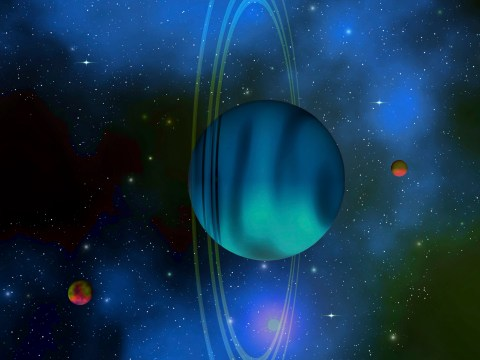 Astronomers have been probing Uranus' icy cold ring