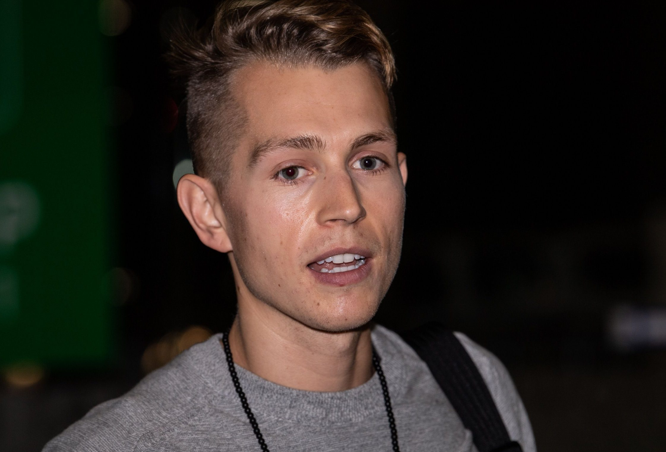 Mandatory Credit: Photo by James Gourley/REX (9973956ad) James McVey 'I'm a Celebrity...Get Me Out of Here!' TV show arrivals, Brisbane Airport, Australia - 12 Nov 2018