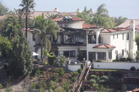 California wildfires: Celebrity homes affected by Woolsey