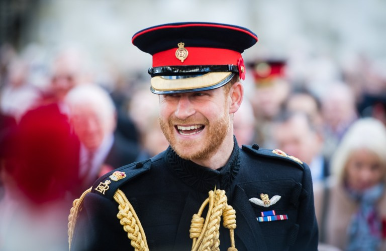 LONDON, ENGLAND - NOVEMBER 08: Prince Harry, Duke of Sussex attends the field of remembrance service at Westminster Abbey on November 8, 2018 in London, England. (Photo by Samir Hussein/WireImage)