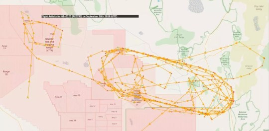 Strange aircraft are flying over Area 51 on mysterious top ... on map of marine corps air station yuma, map of baldur's gate, map of lowry air force base, map of aberdeen proving ground, tonopah test range, map of dark skies, road map area 51, map of occult, map of far cry 2, nevada state route 375, map of angel, bob lazar, map of new world order, ufo conspiracy theory, apollo moon landing hoax conspiracy theories, new world order, nellis air force base, map of nevada, map of skinwalker ranch, papoose lake, groom lake, nazi ufos, map of mafia, bermuda triangle, philadelphia experiment, map of port columbus international airport, map of los angeles international airport, conspiracy theory, wright-patterson air force base, map of las vegas, dulce base, map of jurassic world, map of valley of fire, map of fdr skatepark, rachel, nevada, map of world war iii,