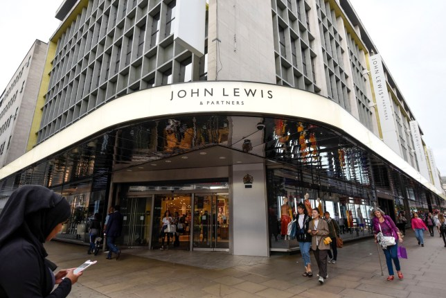 "Mandatory Credit: Photo by Stephen Chung/LNP/REX/Shutterstock (9868529d) Rebranding has taken place at the flagship Oxford Street department store of John Lewis. John Lewis rebrands to John Lewis & Partners, London, UK - 05 Sep 2018 Now known as ""John Lewis & Partners"", the rebranding puts the group's 83,000 staff, known internally as partners, at the ""heart of the business"" and will take five years to roll out across stores nationwide. Waitrose will also rebrand to ""Waitrose & Partners"" as the group faces increasing challenges in the high street."