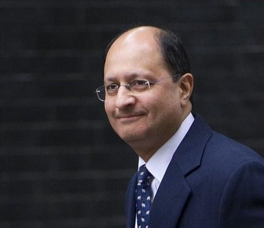 Mandatory Credit: Photo by Eddie Mulholland/REX/Shutterstock (3161297v) Shailesh Vara Cabinet reshuffle, Downing Street, London, Britain - 07 Oct 2013