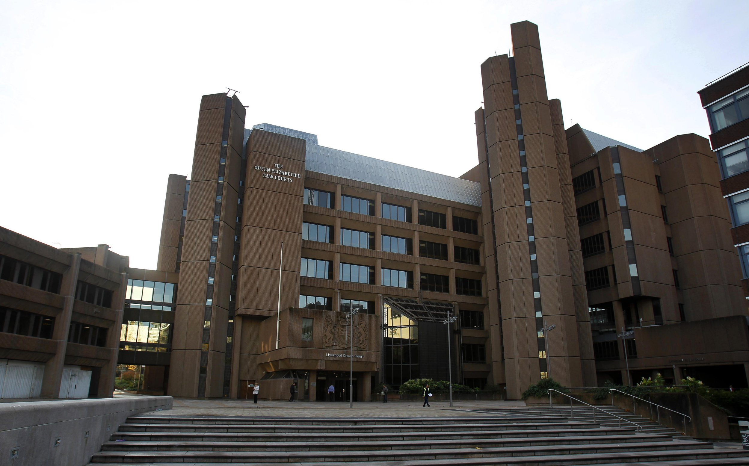 A general view of Liverpool Crown Court, Derby Square, Liverpool.