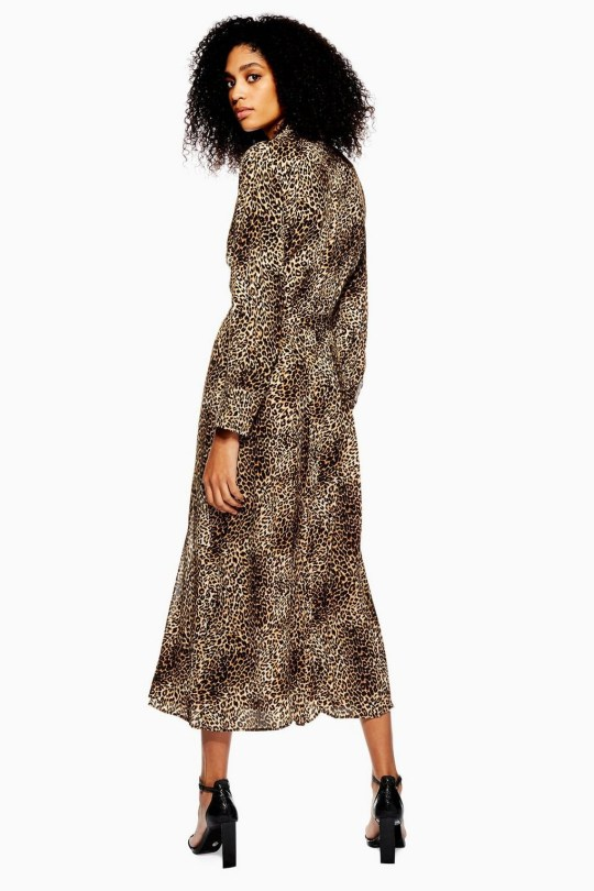 08ffd56a7796e5 Topshop's Sell-Out Snakeskin Dress Now Comes In Leopard Print Credit:  Topshop