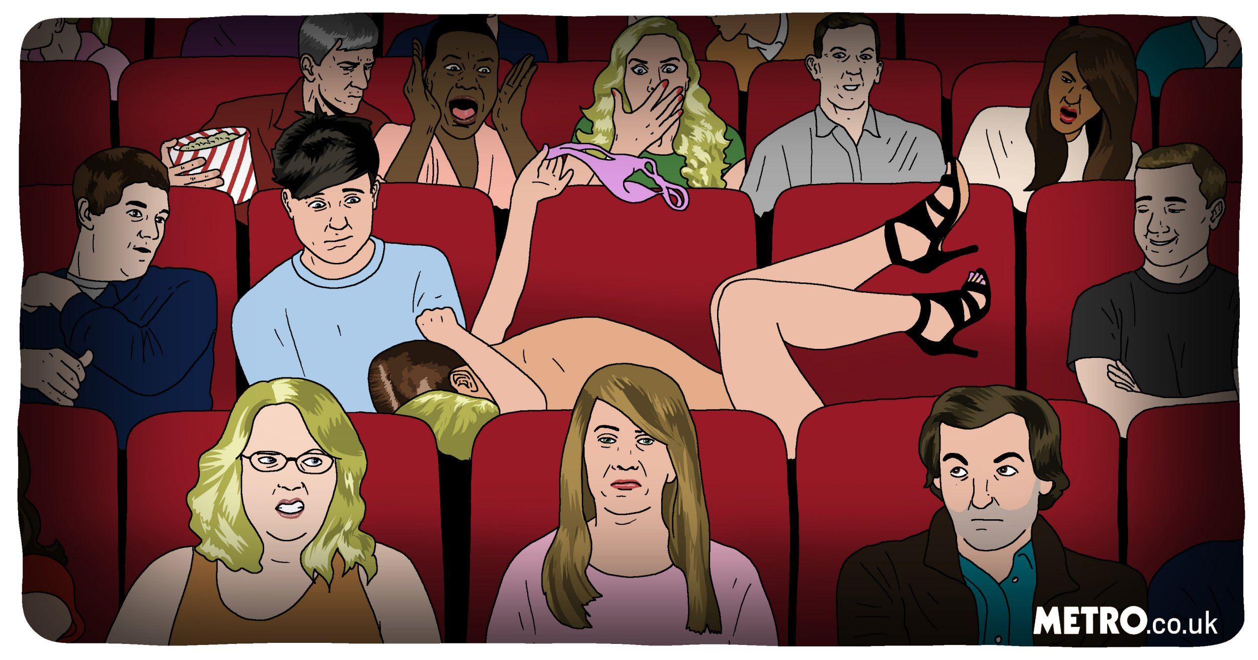People share tales of having sex in cinemas