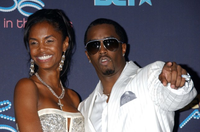 Sean 'Diddy' Combs & Kim Porter attend the 2006 BET Awards at the Shrine Auditorium. Picture: UK Press