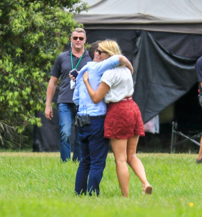 EXCLUSIVE: * Online Set Fee 500 GBP * * UK Print Min Fee 250 GBP Per Pic - Double Fees Page 1 * I'm A Celebrity filming in Australia. Hosts Declan Donnelly and Holly Willoughby arrive via helicopter to a segment of the new series in Springbrook National Park in Queensland. Dec and Holly arrived ahead of four of this year's jungle contestants, James McVey, Sair Khan, Rita Simons and John Barrowman. Pictured: Declan Donnelly,Holly Willoughby Ref: SPL5042393 161118 EXCLUSIVE Picture by: Media-Mode/MEGA / SplashNews.com * Online Set Fee 500 GBP * * UK Print Min Fee 250 GBP Per Pic - Double Fees Page 1 * Splash News and Pictures Los Angeles: 310-821-2666 New York: 212-619-2666 London: 0207 644 7656 Milan: 02 4399 8577 photodesk@splashnews.com World Rights