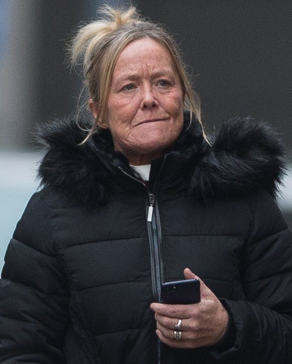 Julie Morris arriving at Minshull street Crown Court where she is appearing after making drunken threats to a stewardess and forced a Ryanair flight back to Manchester. Disclaimer: While Cavendish Press (Manchester) Ltd uses its' best endeavours to establish the copyright and authenticity of all pictures supplied, it accepts no liability for any damage, loss or legal action caused by the use of images supplied. The publication of images is solely at your discretion. For terms and conditions see http://www.cavendish-press.co.uk/pages/terms-and-conditions.aspx