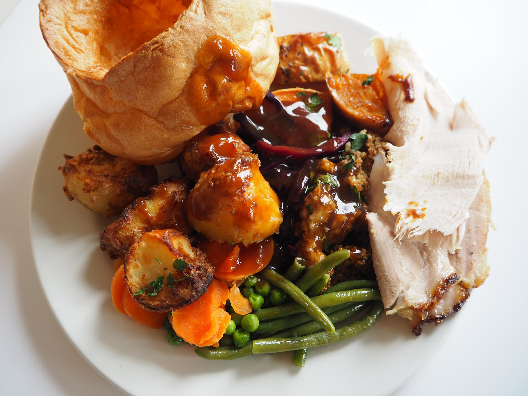 You can now order a Toby Carvery roast dinner online