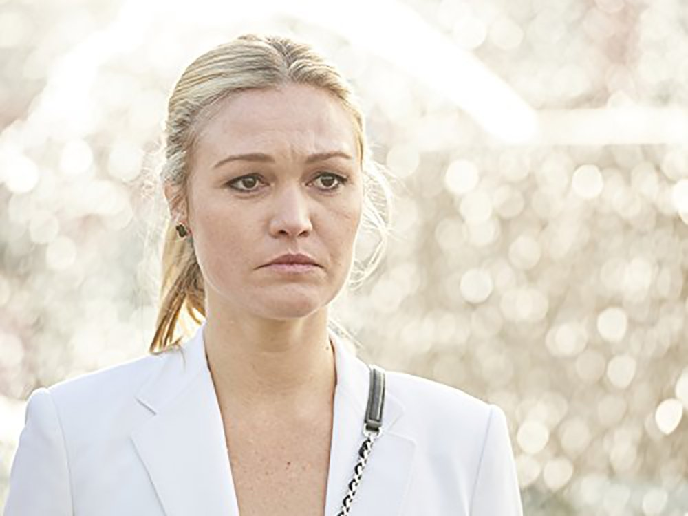 Riviera season 2: Julia Stiles gives first update of the ramifications from that cliffhanger as she wraps up filming