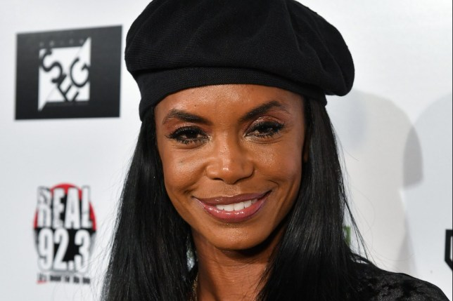 Mandatory Credit: Photo by Rob Latour/Variety/REX/Shutterstock (9420074et) Kim Porter Kenny 'The Jet' Smith's annual All-Star Bash, Arrivals, Los Angeles, USA - 16 Feb 2018
