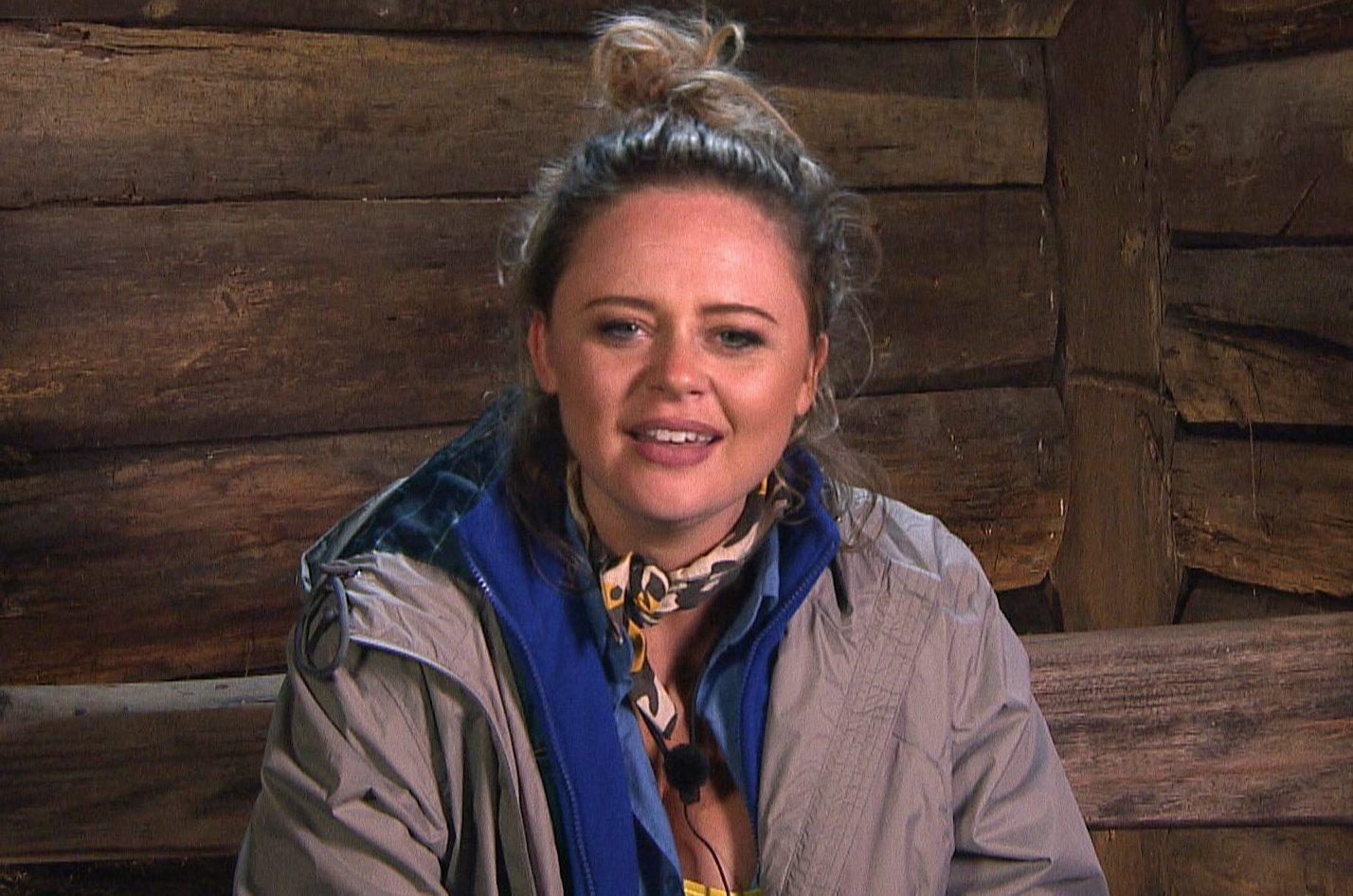 STRICT EMBARGO - NOT TO BE USED BEFORE 22:45 GMT, 18 NOV 2018 - EDITORIAL USE ONLY Mandatory Credit: Photo by ITV/REX/Shutterstock (9982887ge) Snake Rock Camp Arrivals - Emily Atack 'I'm a Celebrity...Get Me Out of Here!' TV Show, Series 18, Australia - 18 Nov 2018