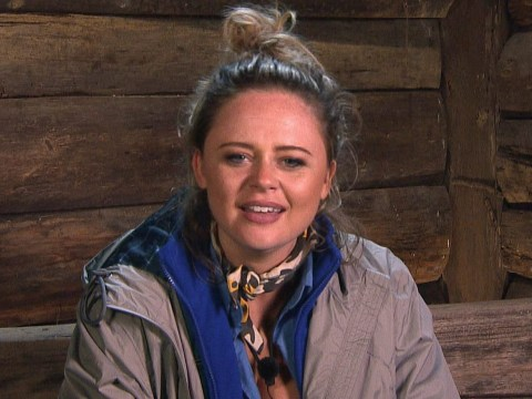 Emily Atack 'helped through I'm A Celebrity by psychiatrist' after suffering panic attack