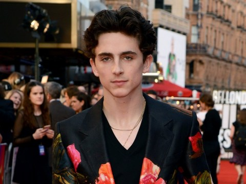 Timothee Chalamet had a very awkward run-in with foot fetishist