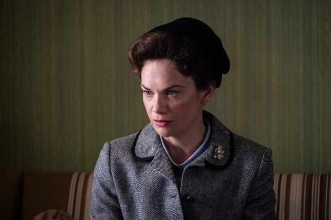 WARNING: Embargoed for publication until 00:00:01 on 20/11/2018 - Programme Name: Mrs Wilson - TX: 27/11/2018 - Episode: n/a (No. n/a) - Picture Shows: Alison Wilson (RUTH WILSON) - (C) ??WP Films Ltd. - Photographer: Peter Marley