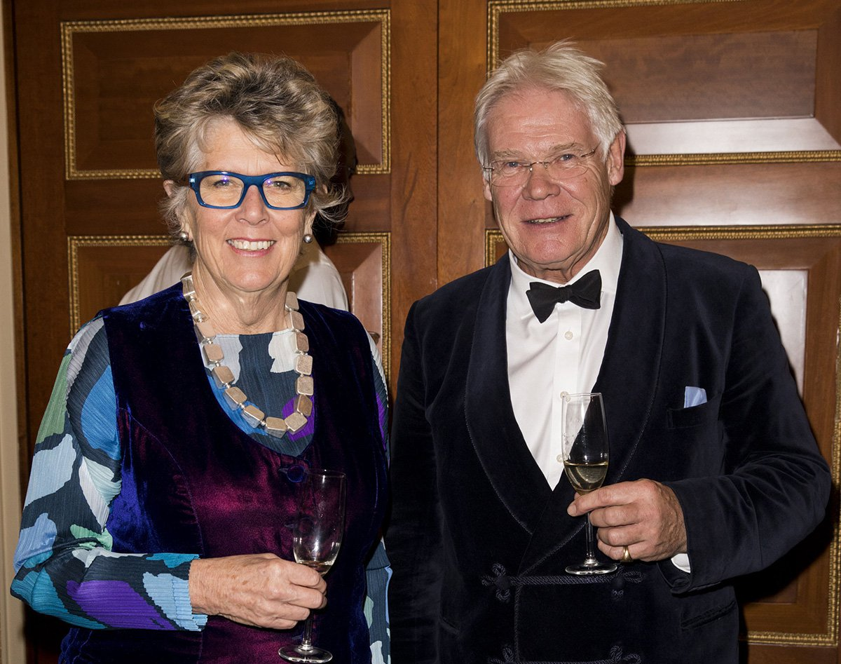Prue Leith talks sex with her 'toyboy' boyfriend and how he wooed her with haggis