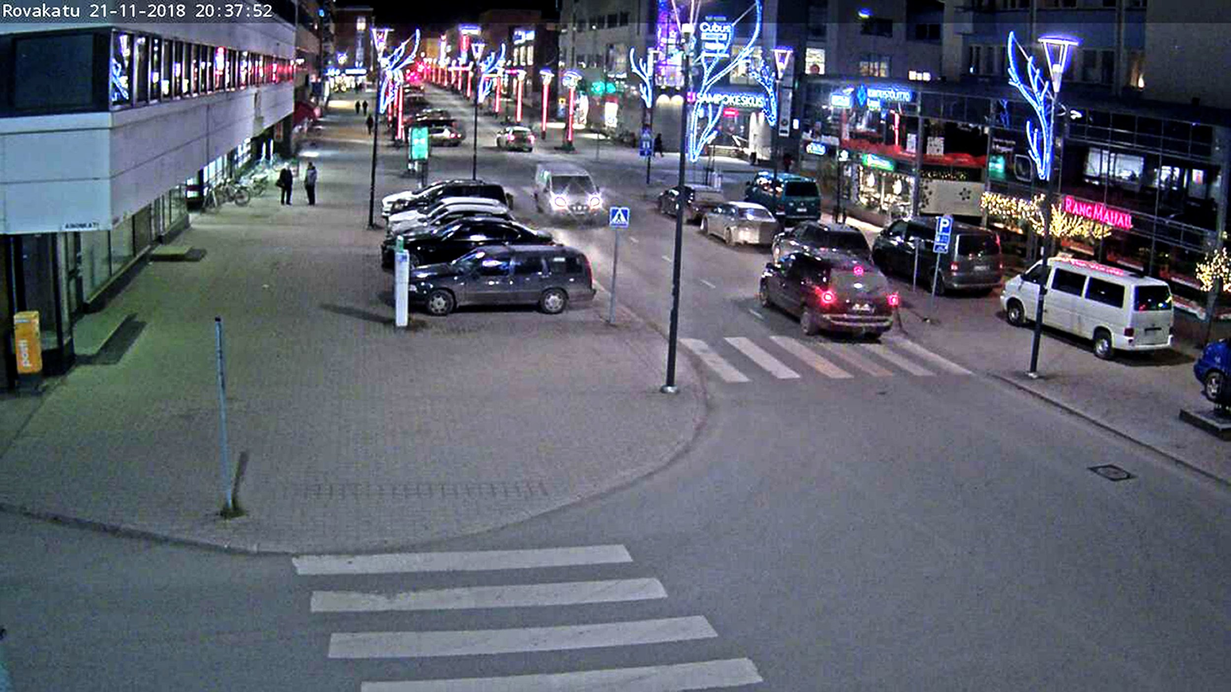 BEST QUALITY AVAILABLE Undated CCTV screengrab taken from the feed of Rovaniemi. Families hoping for a picture-perfect visit to Lapland were left wondering if their holidays would be spoiled as webcam images from the region showed barely any patches of white around a week before the winter season begins. PRESS ASSOCIATION Photo. Issue date: Wednesday November 21, 2018. There is little chance for snow in Rovaniemi in the next 10 days except perhaps on Sunday, according to the Finnish Meteorological Institute, although temperatures will be below freezing. See PA story WEATHER Cold Lapland. Photo credit should read: Rovaniemi/PA Wire NOTE TO EDITORS: This handout photo may only be used in for editorial reporting purposes for the contemporaneous illustration of events, things or the people in the image or facts mentioned in the caption. Reuse of the picture may require further permission from the copyright holder.