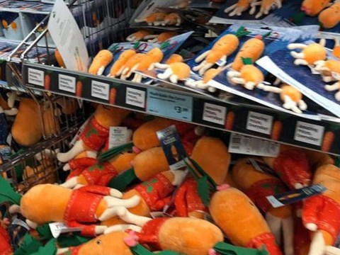 Customers are fighting to get their hands on Aldi's Kevin the Carrot