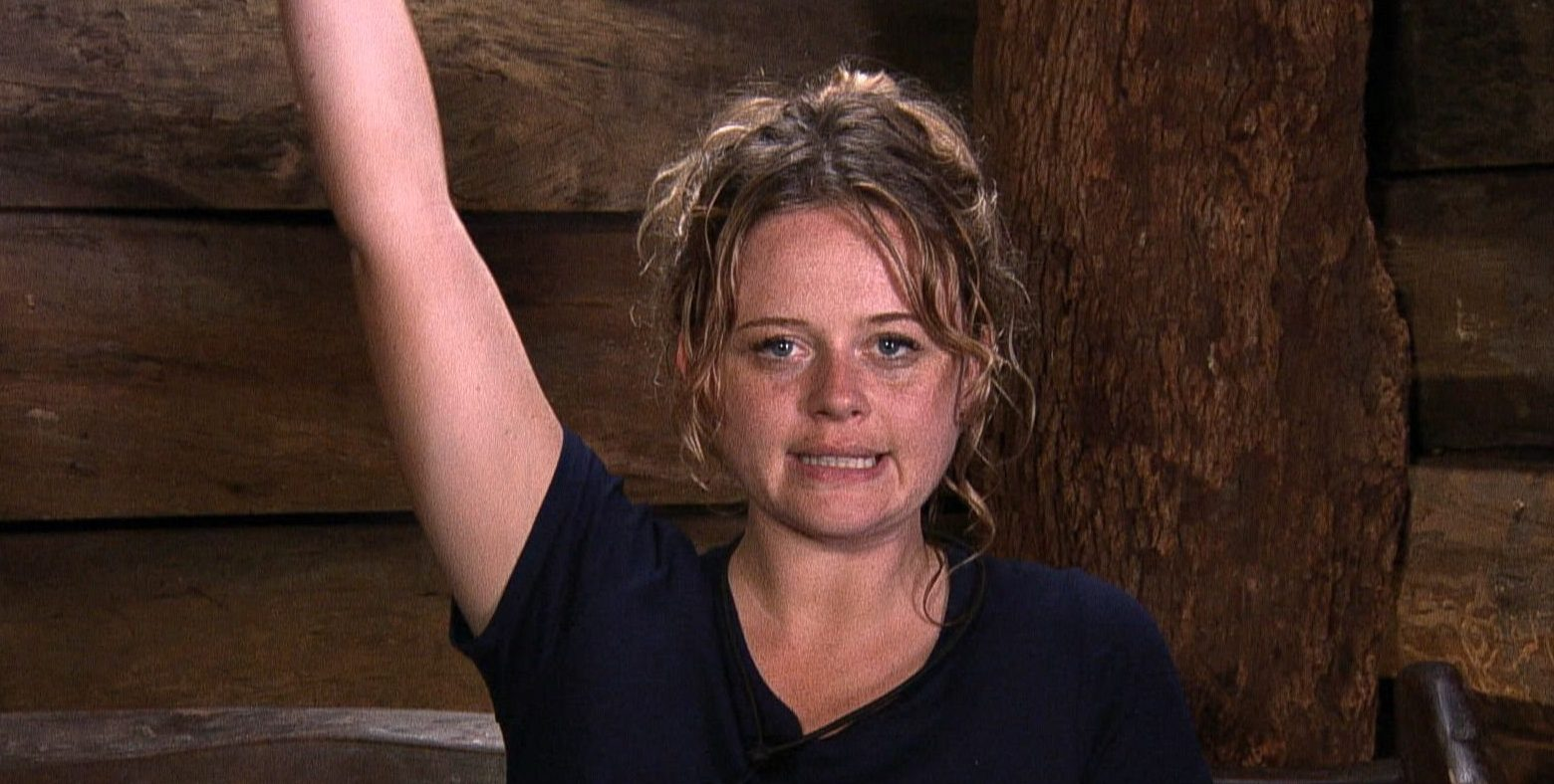 Emily Atack reminds fans of Amir Khan's 'Strawberry-gate' on I'm A Celebrity as she steals a chilli