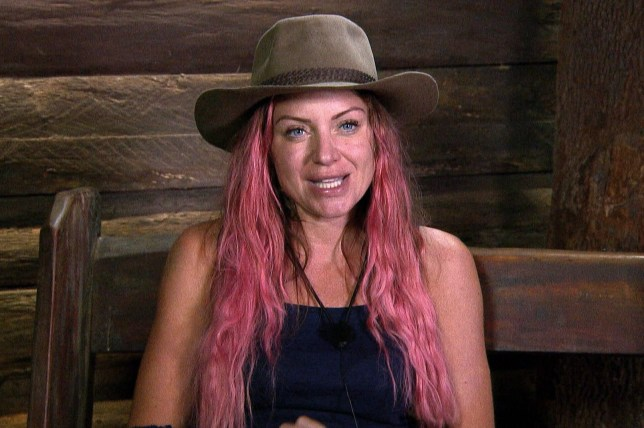 STRICT EMBARGO - NOT TO BE USED BEFORE 22:30 GMT, 22 NOV 2018 - EDITORIAL USE ONLY Mandatory Credit: Photo by ITV/REX (9989883fr) Calm Before The Storm - Rita Simons 'I'm a Celebrity... Get Me Out of Here!' TV Show, Series 18, Australia - 22 Nov 2018