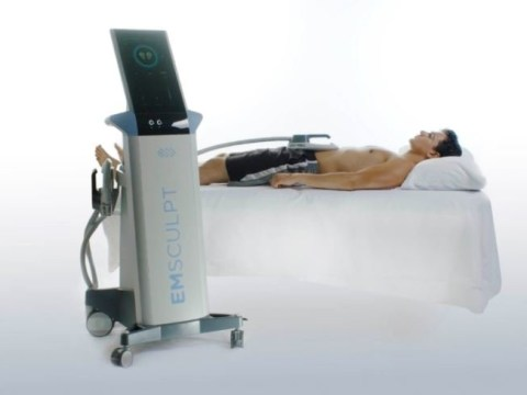Bizarre machine will sculpt a six-pack for you while you snooze