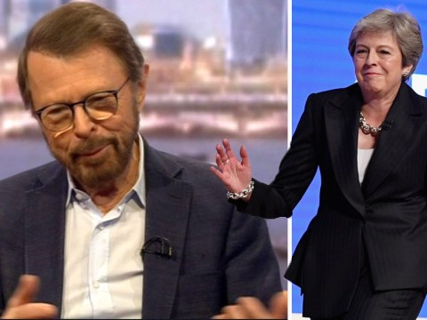 Abba's Bjorn Ulvaeus trolls Theresa May as 'a lady with not a lot of rhythm'