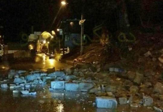 METROGRAB 6.3 earthquake hits Iran 25.11.208 (Picture: @mahsti25metana1)