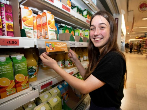 Sainsbury's rolls out 'food bank friendly' food labels
