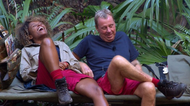 STRICT EMBARGO - NOT TO BE USED BEFORE 22:00 GMT, 26 NOV 2018 - EDITORIAL USE ONLY Mandatory Credit: Photo by ITV/REX (9992881aw) Harry Learns Slang - Fleur East and Harry Redknapp 'I'm a Celebrity... Get Me Out of Here!' TV Show, Series 18, Australia - 26 Nov 2018