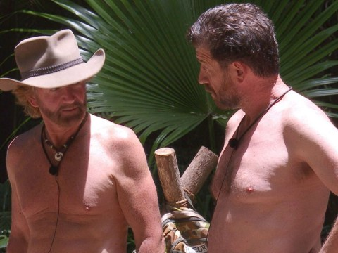 I'm A Celebrity's Nick Knowles clashes with Noel Edmonds in tense scene over camp rules