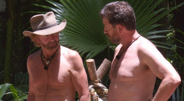 STRICT EMBARGO - NOT TO BE USED BEFORE 22:00 GMT, 26 NOV 2018 - EDITORIAL USE ONLY Mandatory Credit: Photo by ITV/REX (9992881gz) Noel and Nick Tension - Noel Edmonds and Nick Knowles 'I'm a Celebrity... Get Me Out of Here!' TV Show, Series 18, Australia - 26 Nov 2018