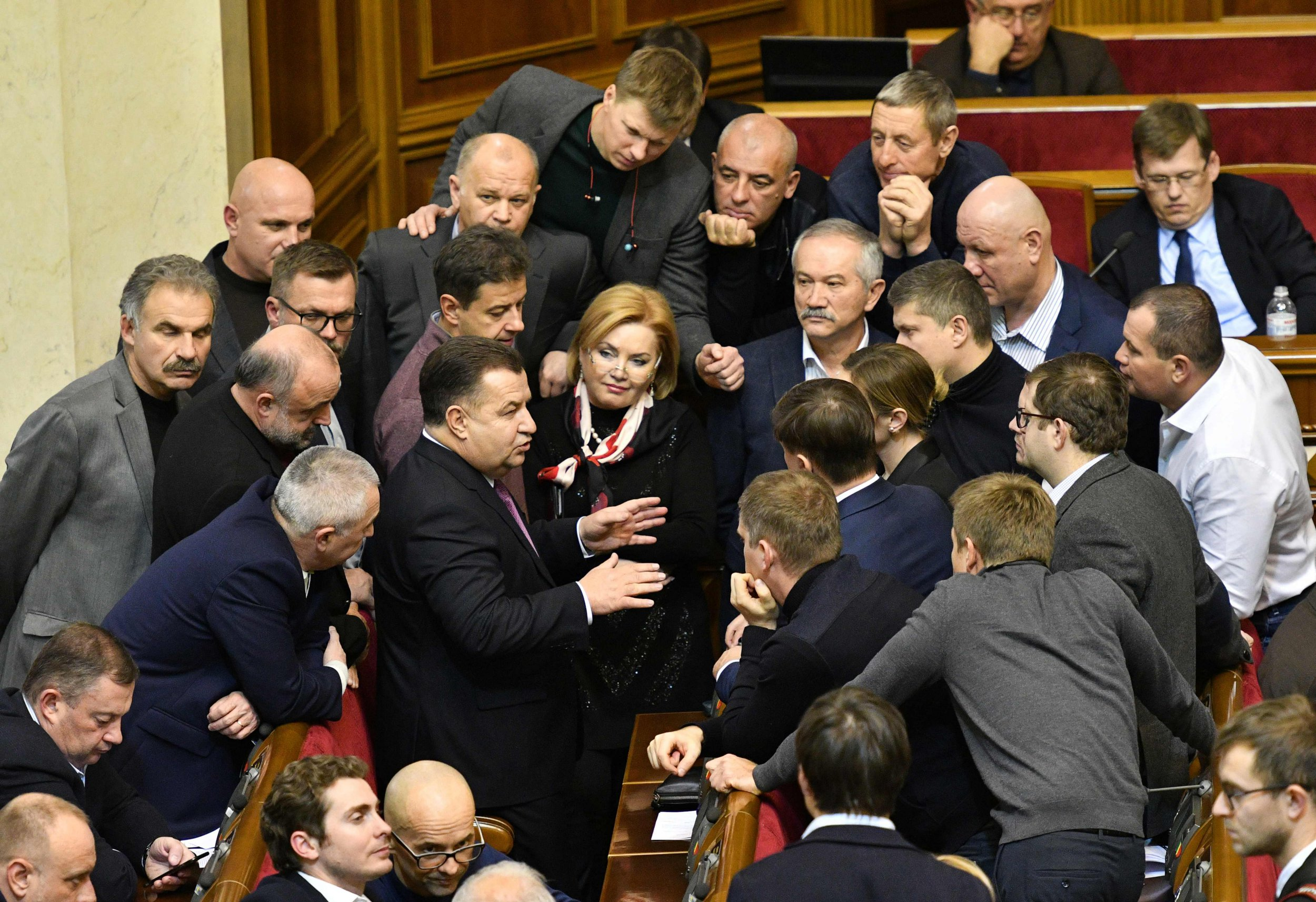What does martial law mean as it is declared in Ukraine?