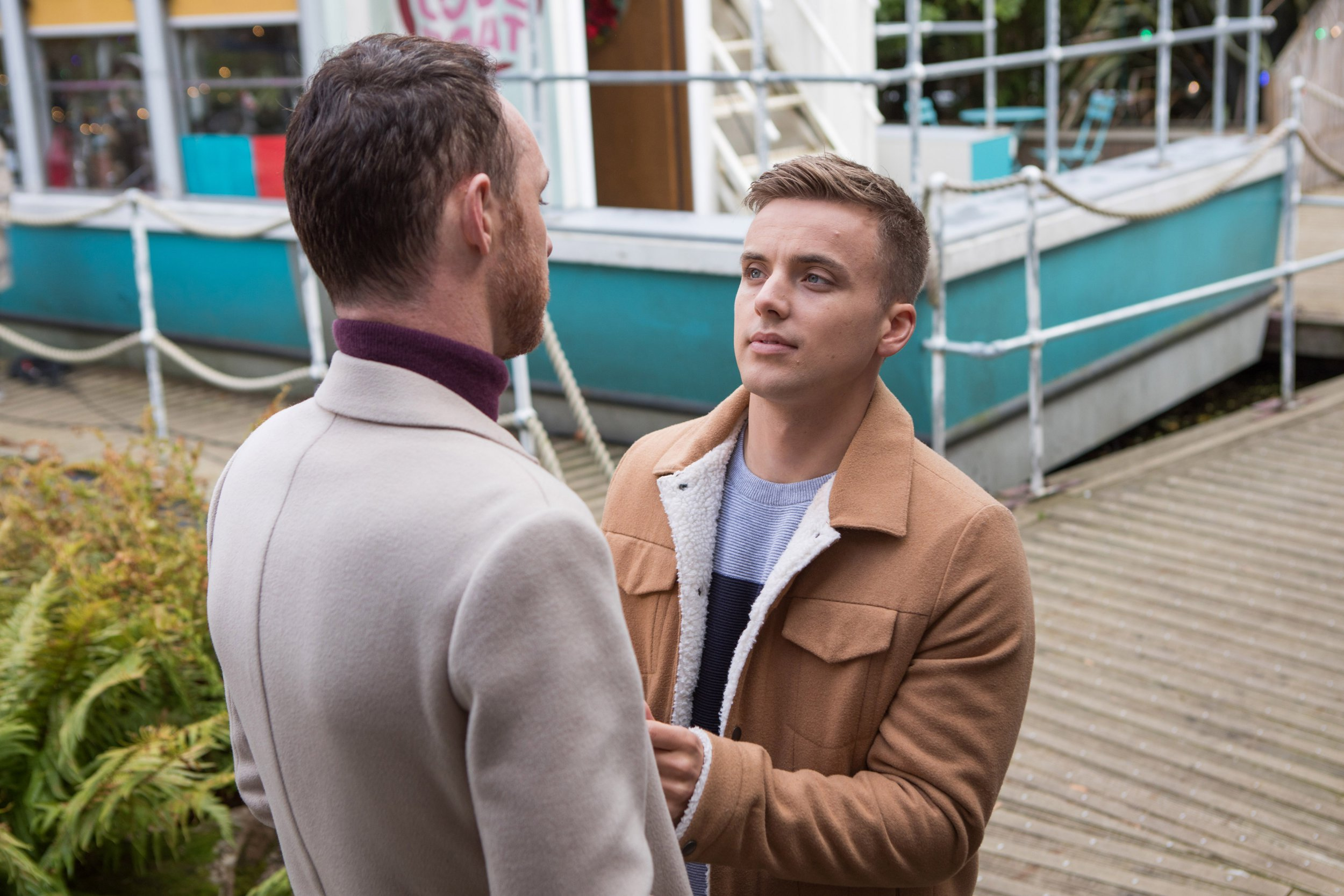 Hollyoaks spoilers: Harry Thompson returns and he wants to win back James Nightingale