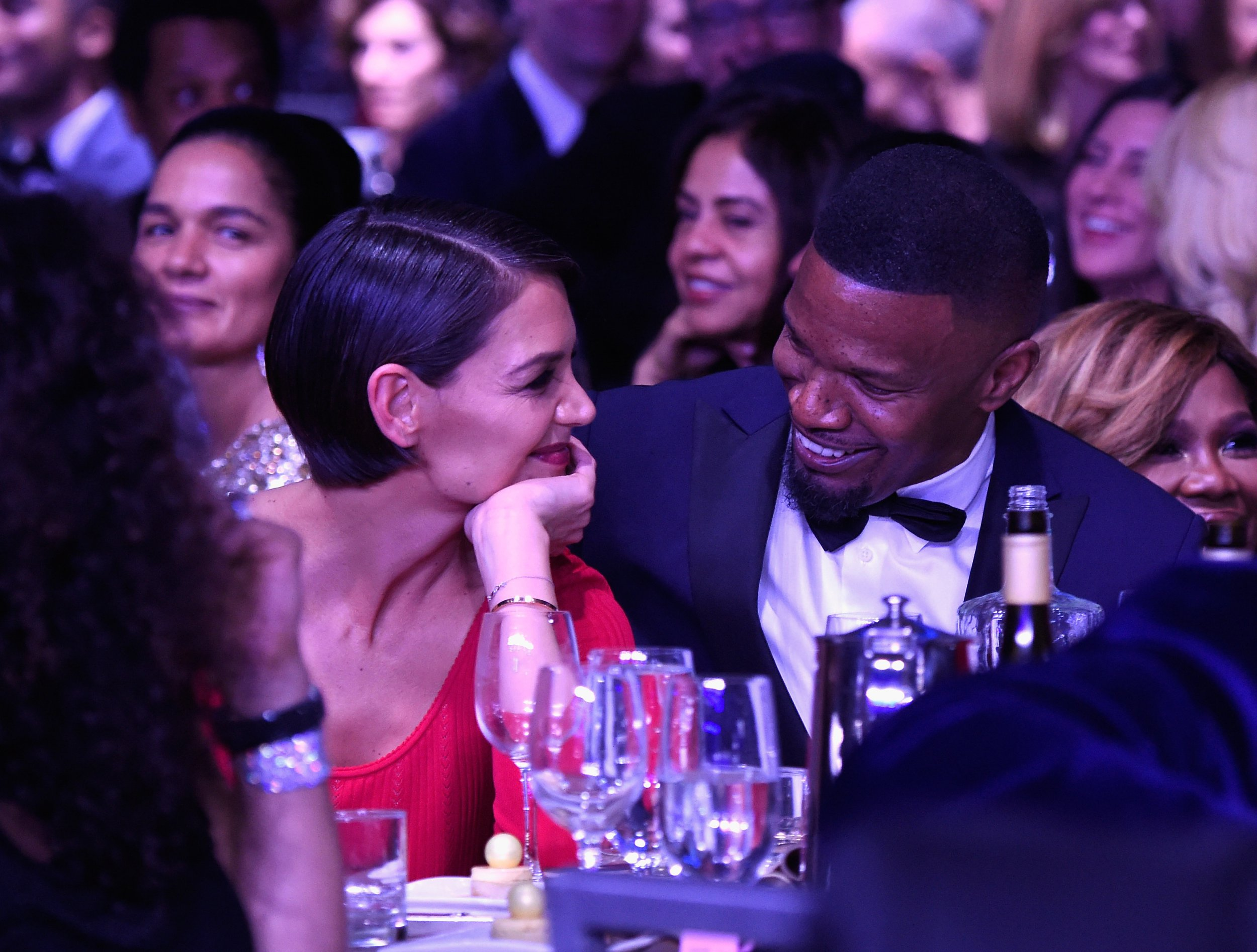 Katie Holmes and Jamie Foxx 'planning winter wedding in Paris' after engagement rumours